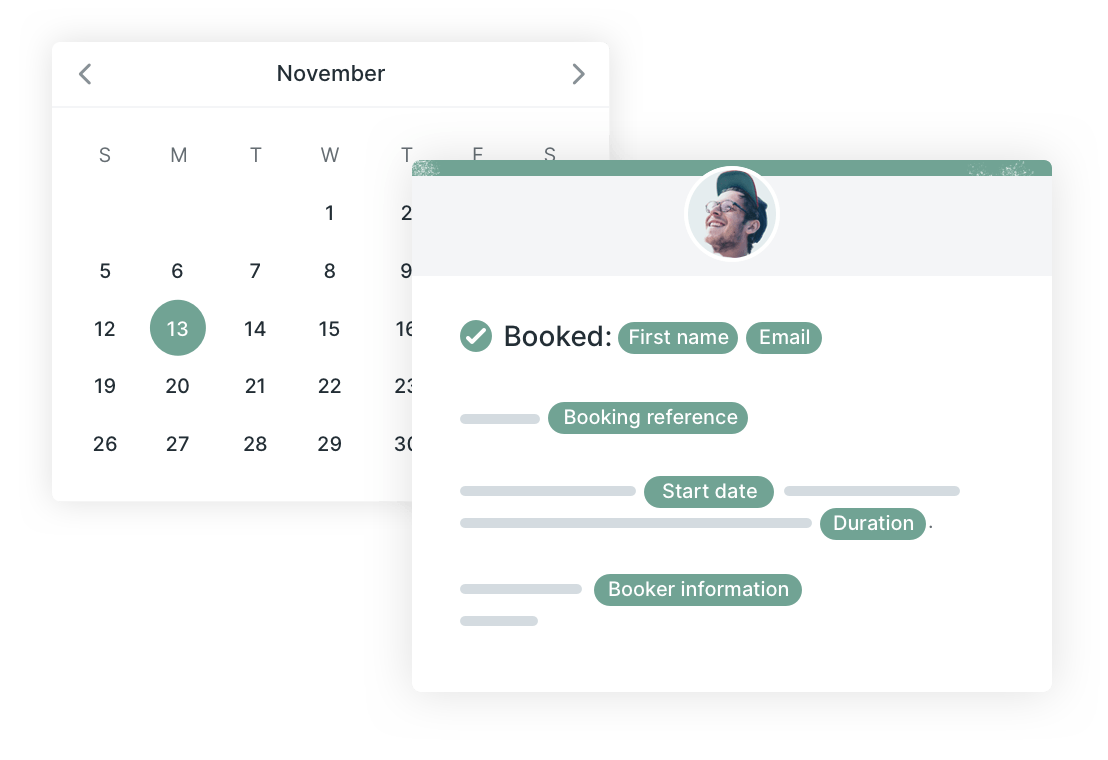 Customize your calendar events