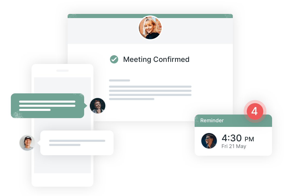 Add booking confirmations and reminders