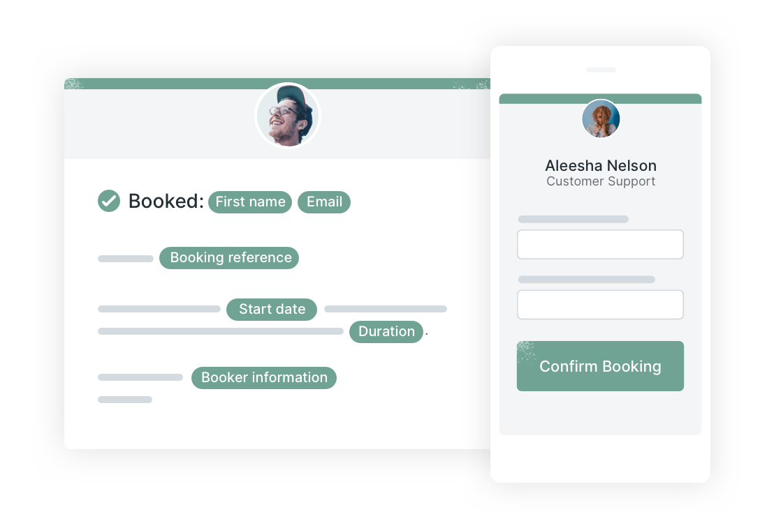 Create your booking page