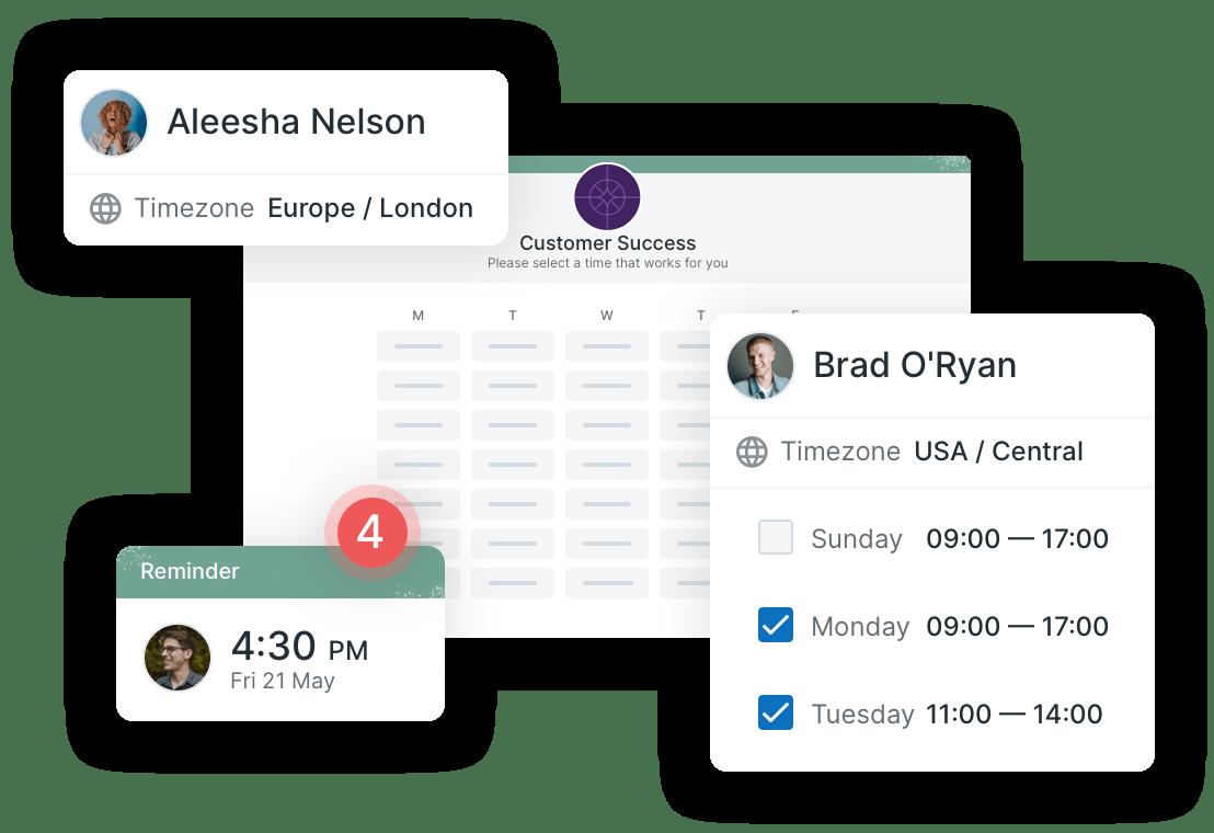 Auto-detect timezones and languages