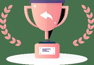 Award winning customer support team